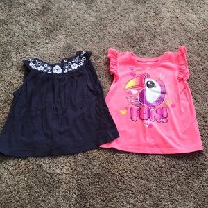 Little girls tanks